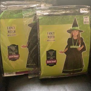 KIDS FANCY WITCH COSTUME